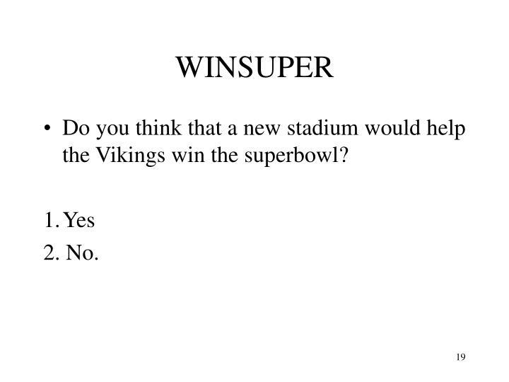 WINSUPER