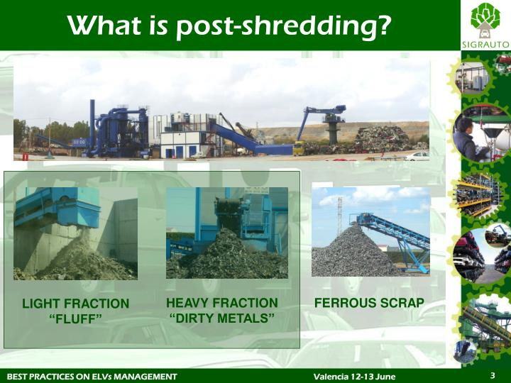 What is post shredding