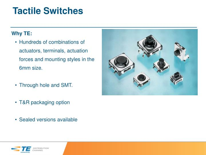 Tactile Switches