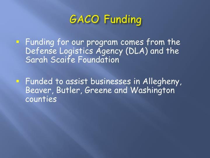 GACO Funding