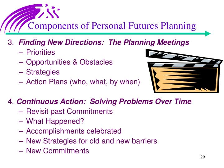 Components of Personal Futures Planning