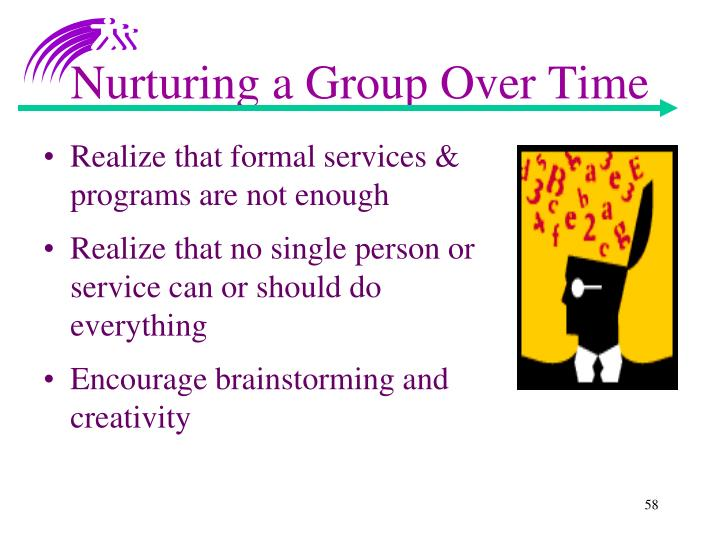 Nurturing a Group Over Time