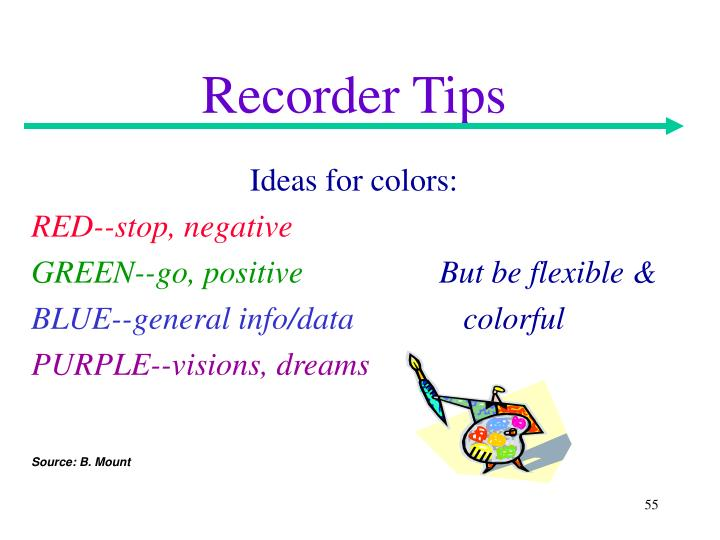 Recorder Tips