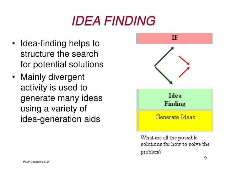 IDEA FINDING