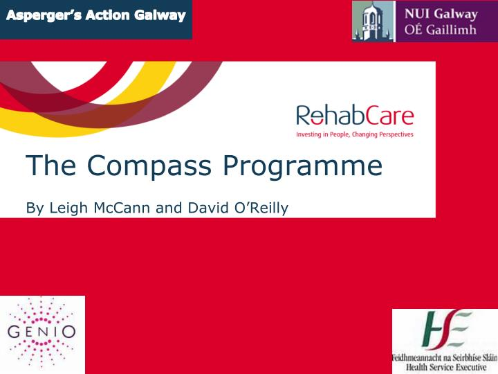 The compass programme by leigh mccann and david o reilly