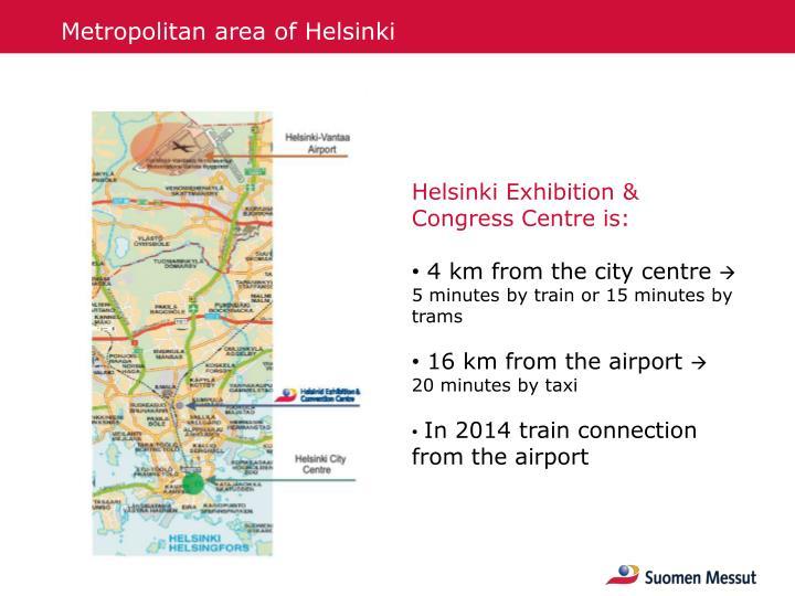 Metropolitan area of Helsinki