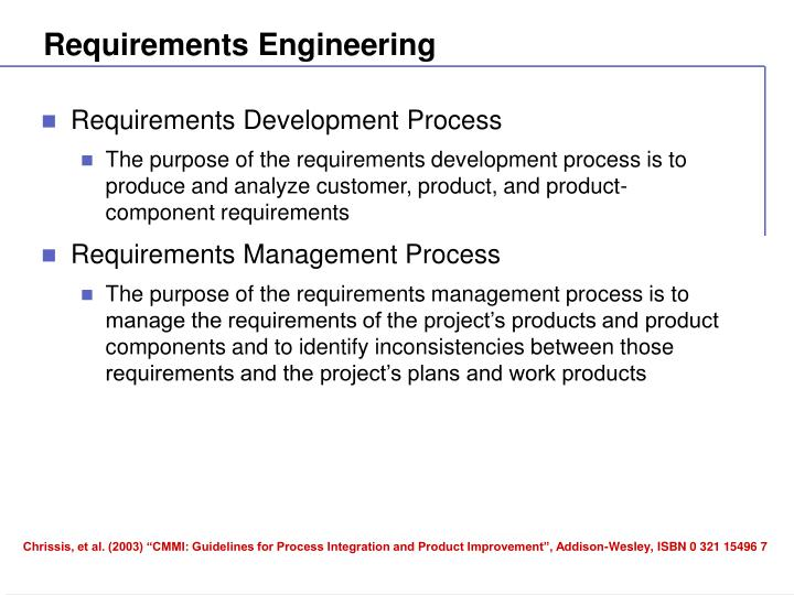 Requirements engineering1