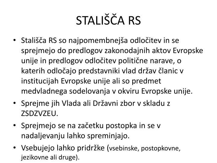 STALIŠČA RS