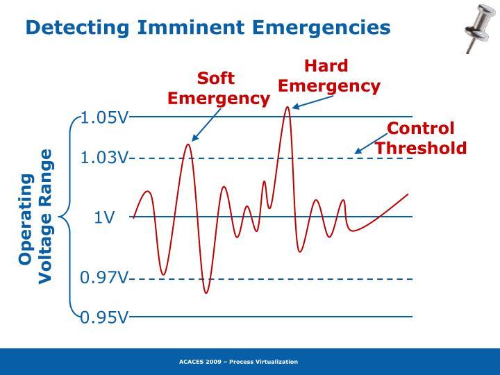 Detecting Imminent Emergencies