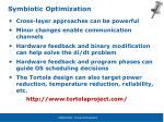 symbiotic optimization