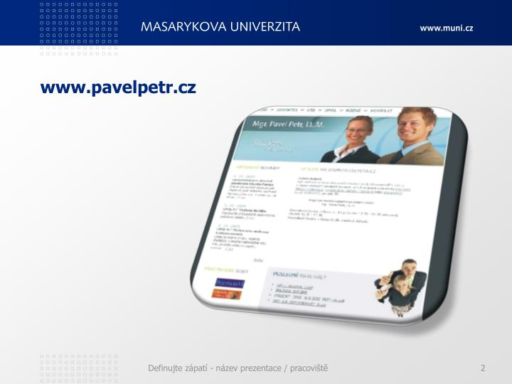 www.pavelpetr.cz
