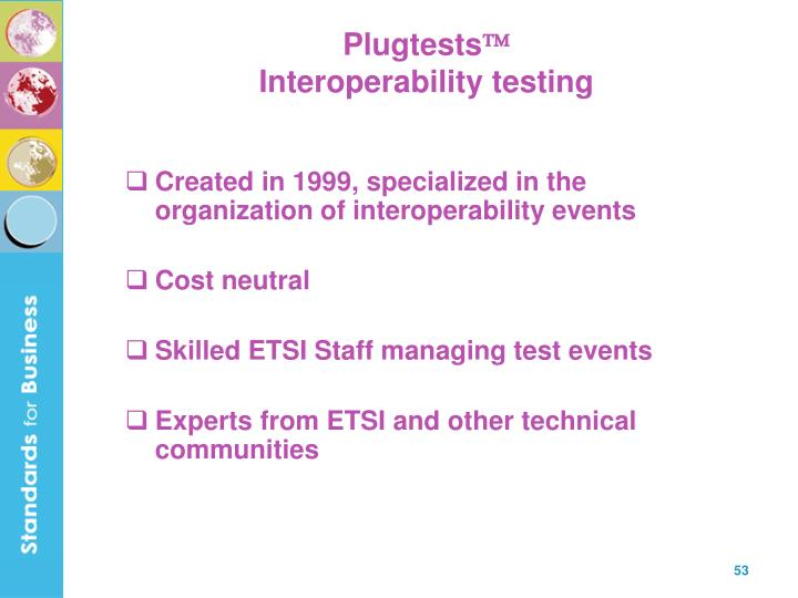 Plugtests