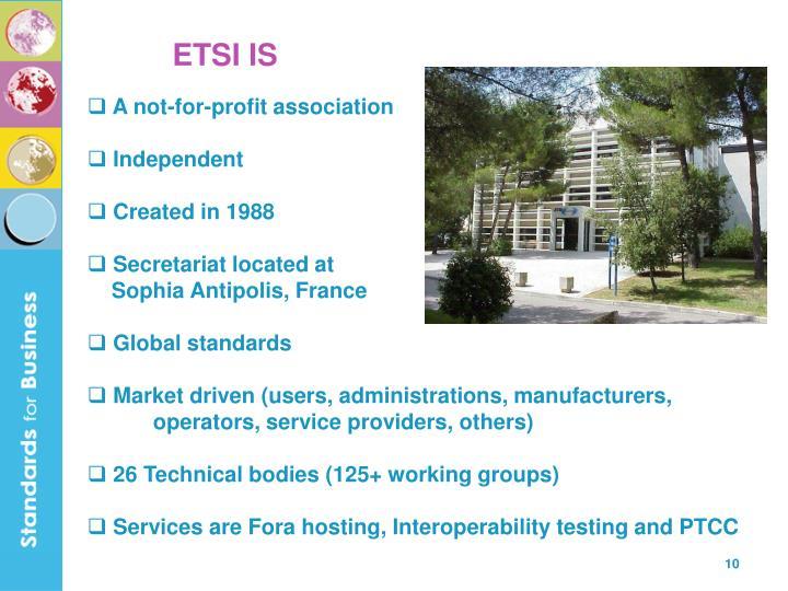 ETSI IS