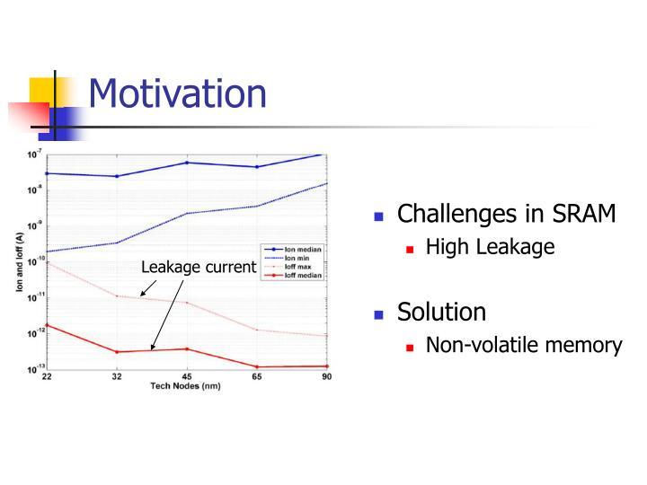 Challenges in SRAM