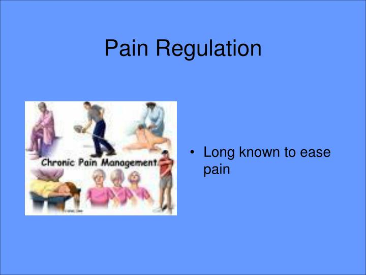 Pain Regulation