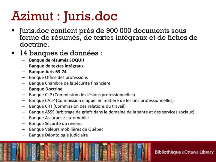 Azimut : Juris.doc