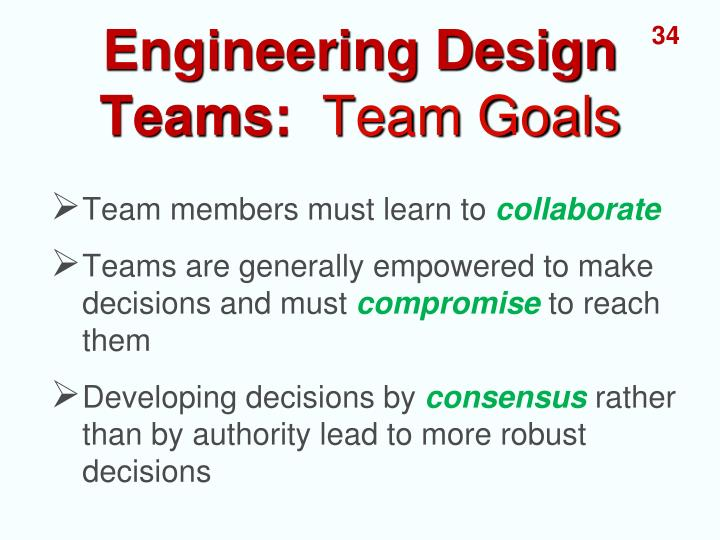 Engineering Design Teams: