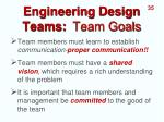engineering design teams team goals1