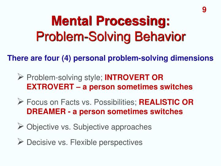 problem solving development