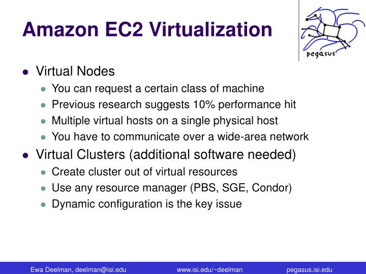 Amazon EC2 Virtualization