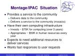 montage ipac situation