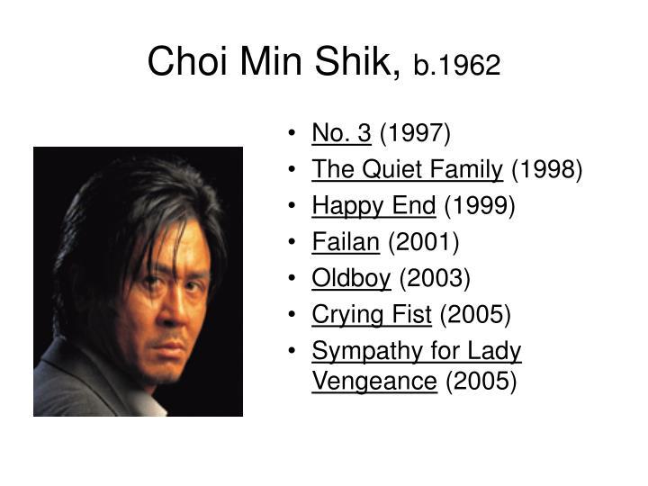 Choi Min Shik,