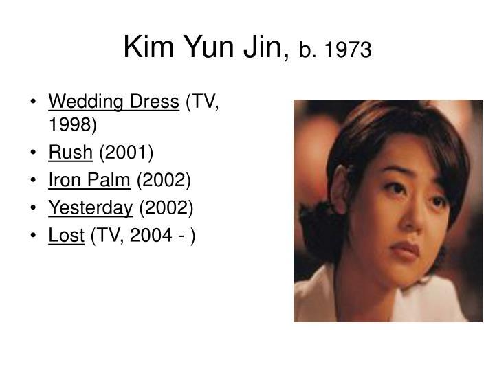 Kim Yun Jin,