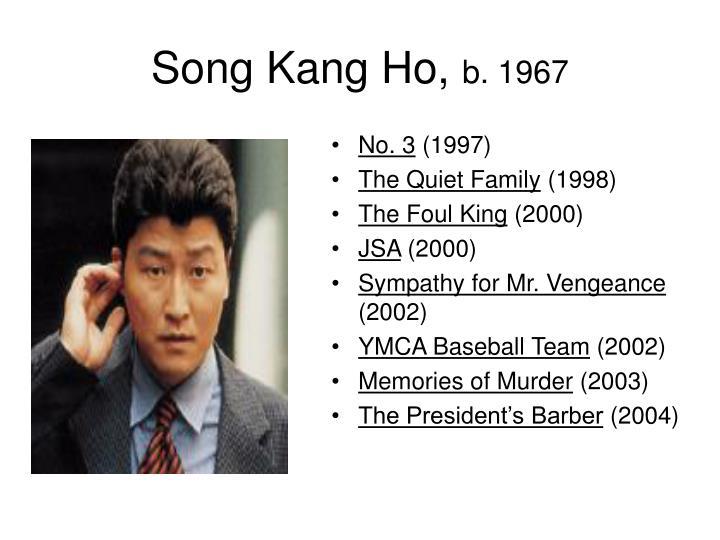 Song Kang Ho,