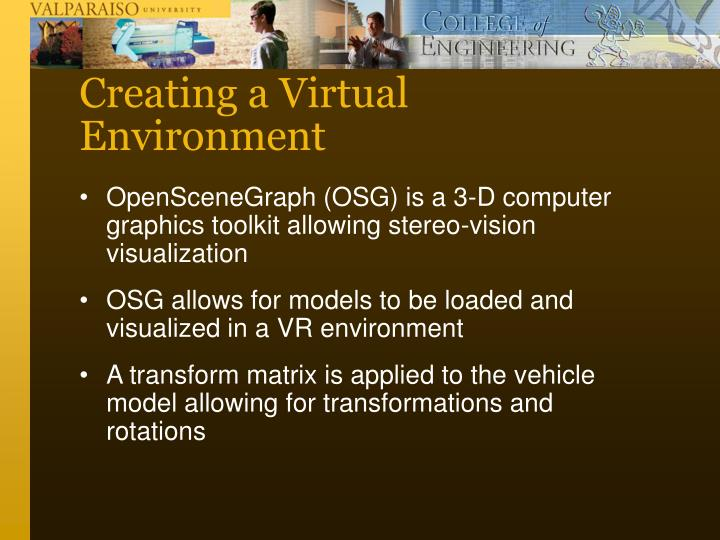 Creating a Virtual Environment