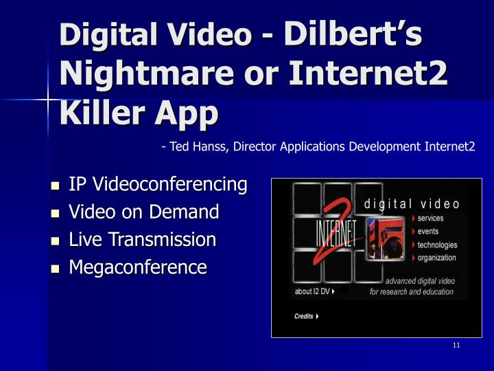 Digital Video -