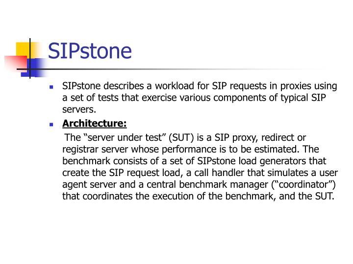 SIPstone