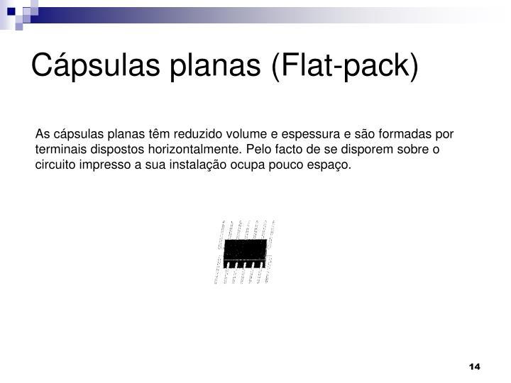 Cápsulas planas (Flat-pack)