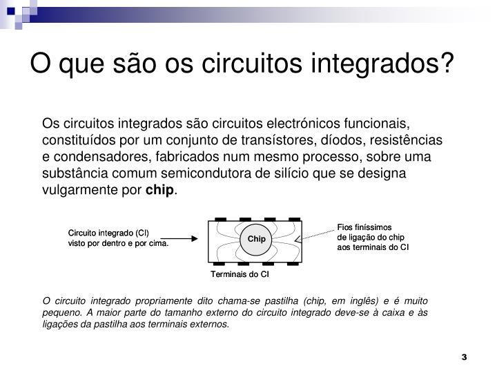 O que são os circuitos integrados?
