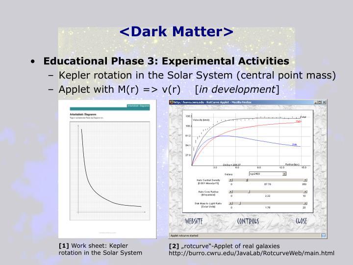 <Dark Matter>