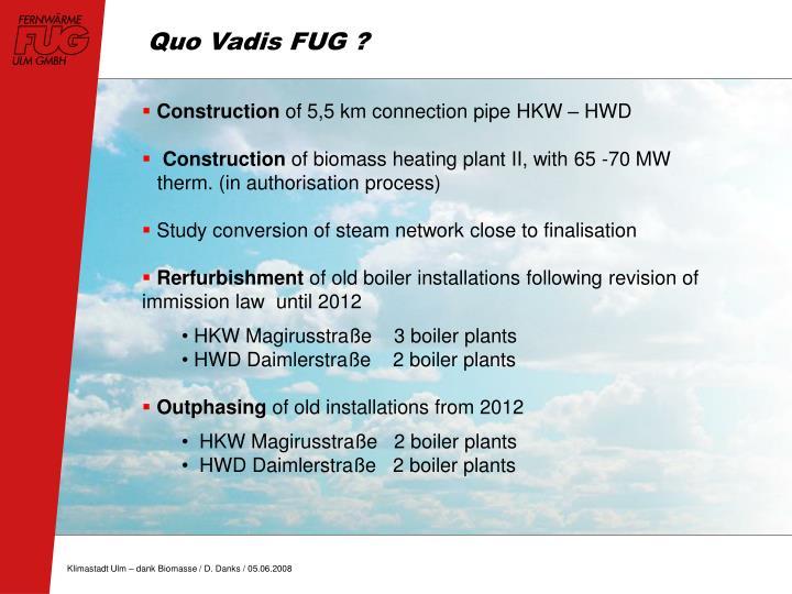Quo Vadis FUG ?