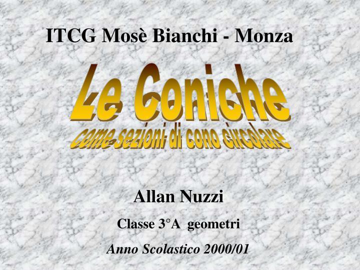 ITCG Mosè Bianchi - Monza
