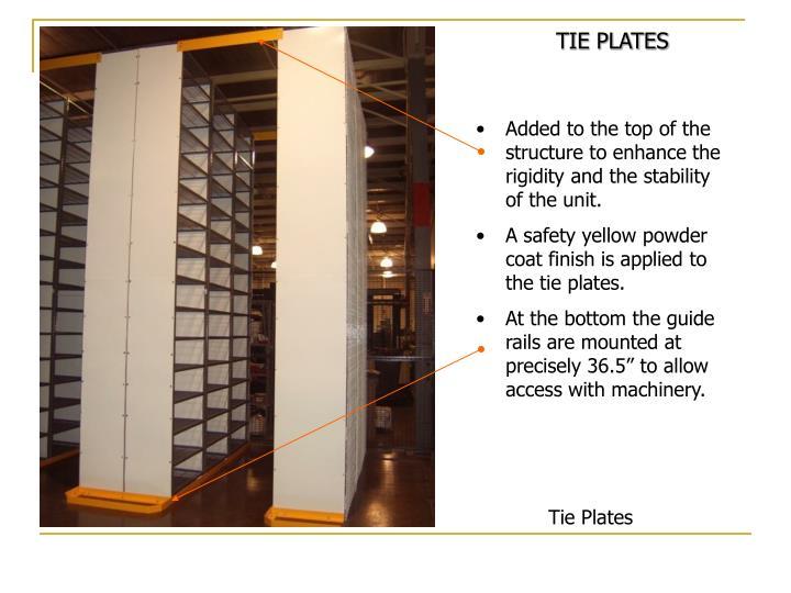 TIE PLATES