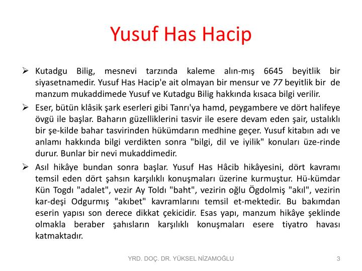 Yusuf has hacip1