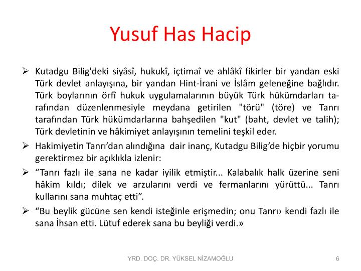 Yusuf Has Hacip