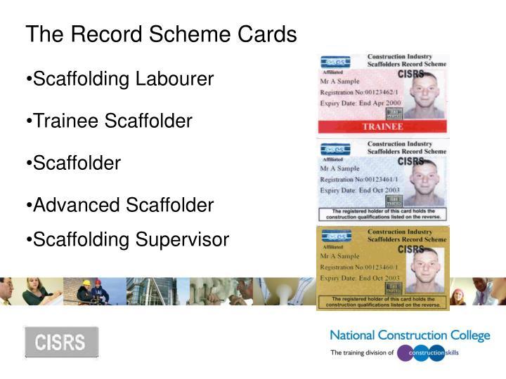 Scaffolding Labourer