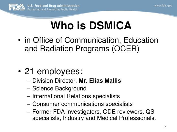 Who is DSMICA