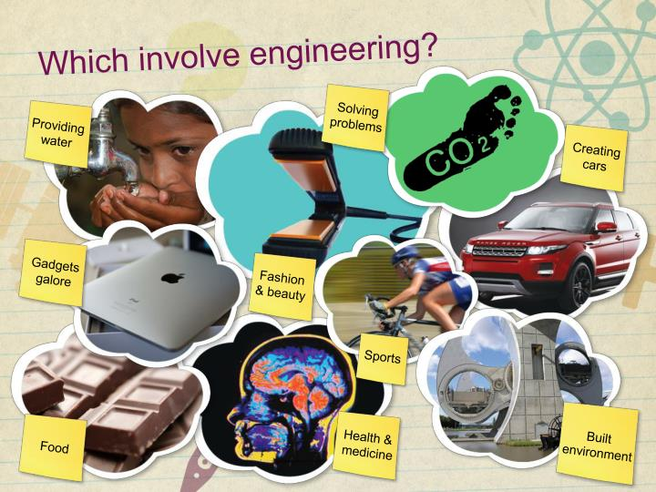 Which involve engineering?