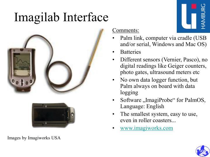 Imagilab Interface