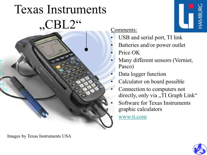 "Texas Instruments ""CBL2"""
