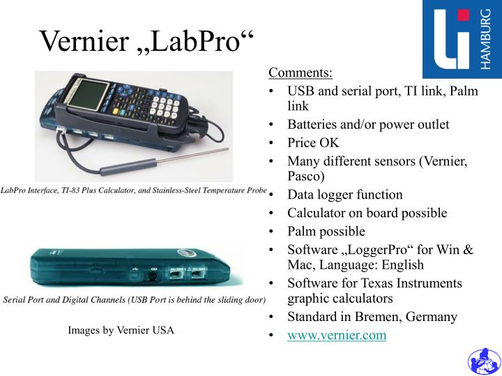 "Vernier ""LabPro"""