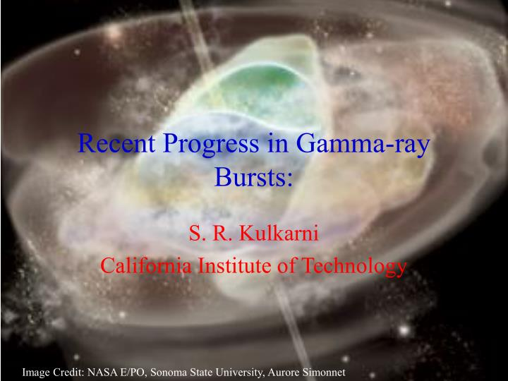 Recent progress in gamma ray bursts