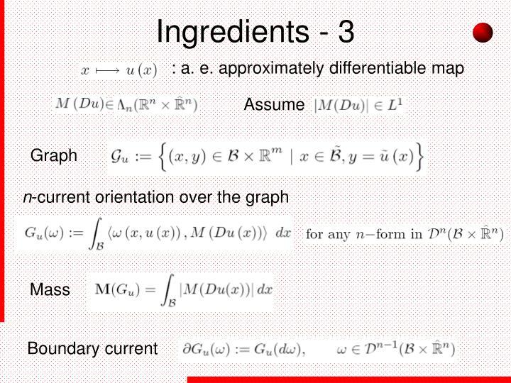 Ingredients - 3