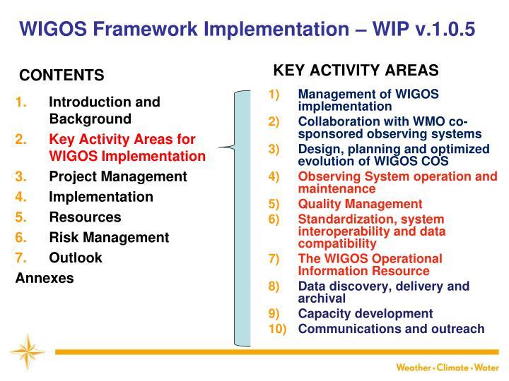 WIGOS Framework Implementation – WIP v.1.0.5