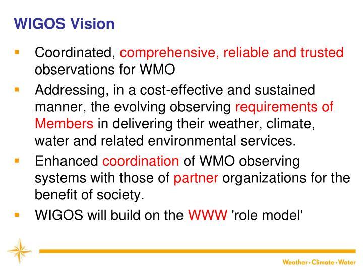 WIGOS Vision