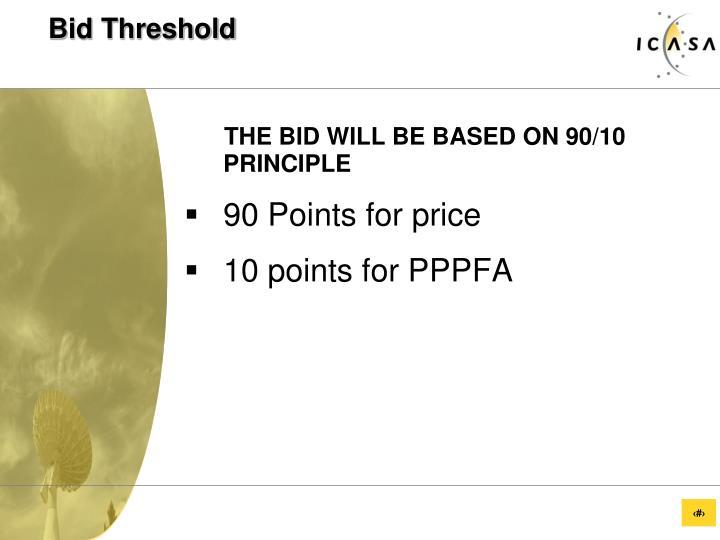Bid Threshold